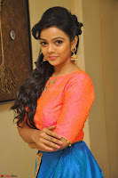 Nithya Shetty in Orange Choli at Kalamandir Foundation 7th anniversary Celebrations ~  Actress Galleries 073.JPG