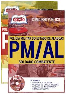 Apostila Concurso PMAL 2017 SOLDADO COMBATENTE