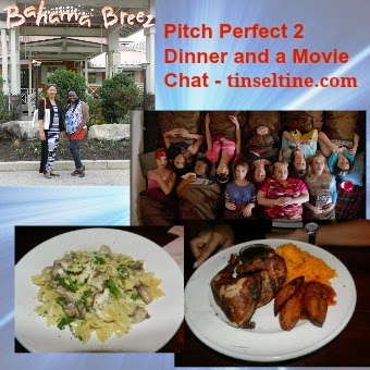 Dinner and a Movie: PITCH PERFECT 2 REVIEW AT BAHAMA BREEZE