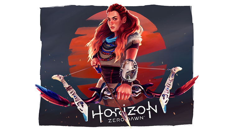 Horizon Zero Dawn by Rocío Rodríguez