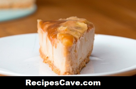 Caramelized Banana Peanut butter Cheesecake recipe
