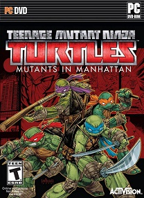 Teenage Mutant Ninja Turtles Mutants in Manhattan-CODEX