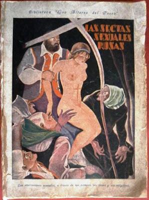 las sectas sexuales rusas publicacion de la editorial sanxo con participacion de laura brunet