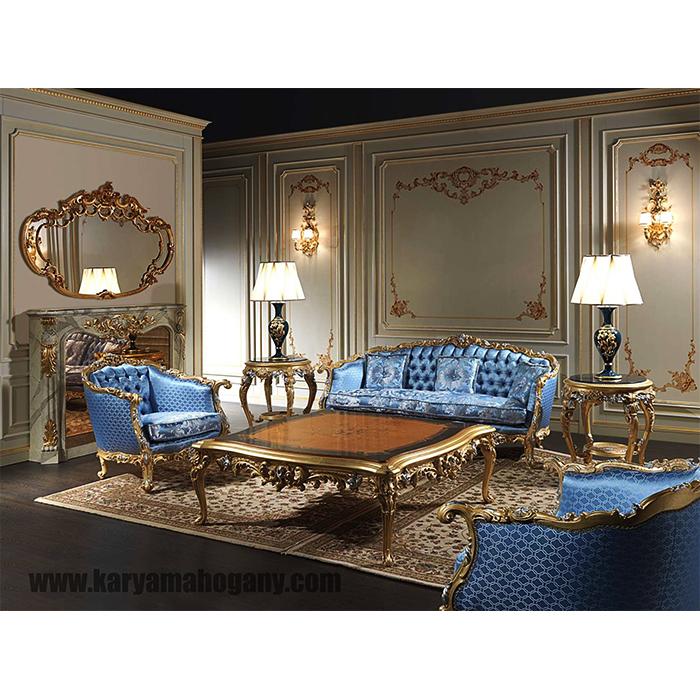 Set Sofa Ruang Tamu Klasik Modern Jepara - Furniture Jepara