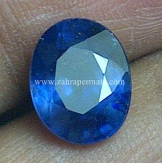 Batu Permata Blue Saphire ZP 517