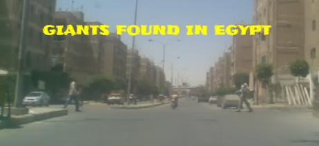 Egypt Giants walking in Dolci Egypt.