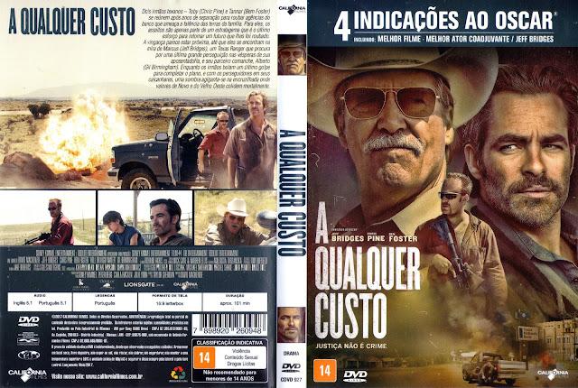 Capa DVD A Qualquer Custo