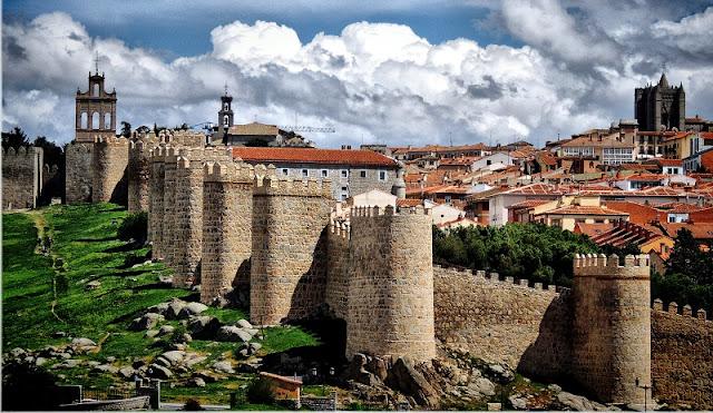 Ávila na Espanha