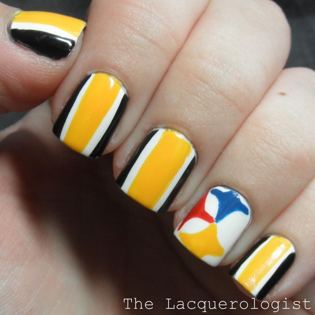 Steelers Manicure! • Casual Contrast