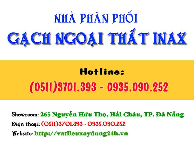 Nhà phân phối gạch ngoại thất Inax ốp tường giá rẻ tại Đà Nẵng