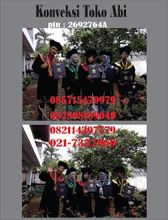 Konveksi Toga Wisuda Daerah Tangerang Tangerang Cimone, Cikokol, Cipondoh, Karawaci, Ciledug, Cipadu , Batu Ceper