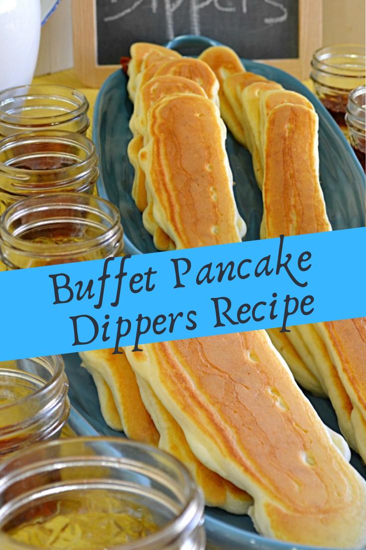 Buffet Pancake Dippers Recipe