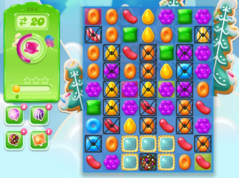 Candy Crush Jelly Saga level 594