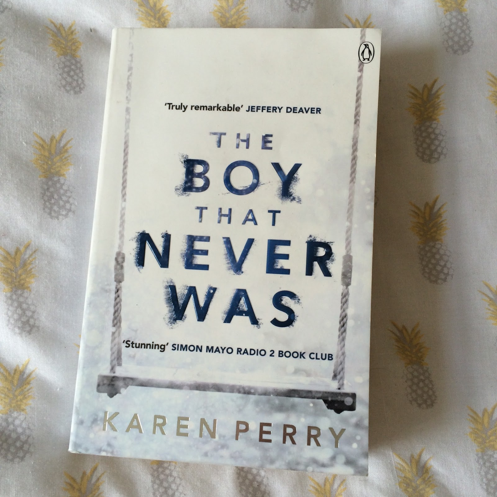 the boy that never was review, irish authors, karen perry