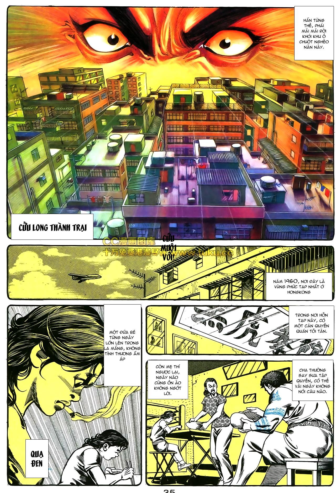 Người Trong Giang Hồ chapter 178: bối cảnh quạ đen trang 22