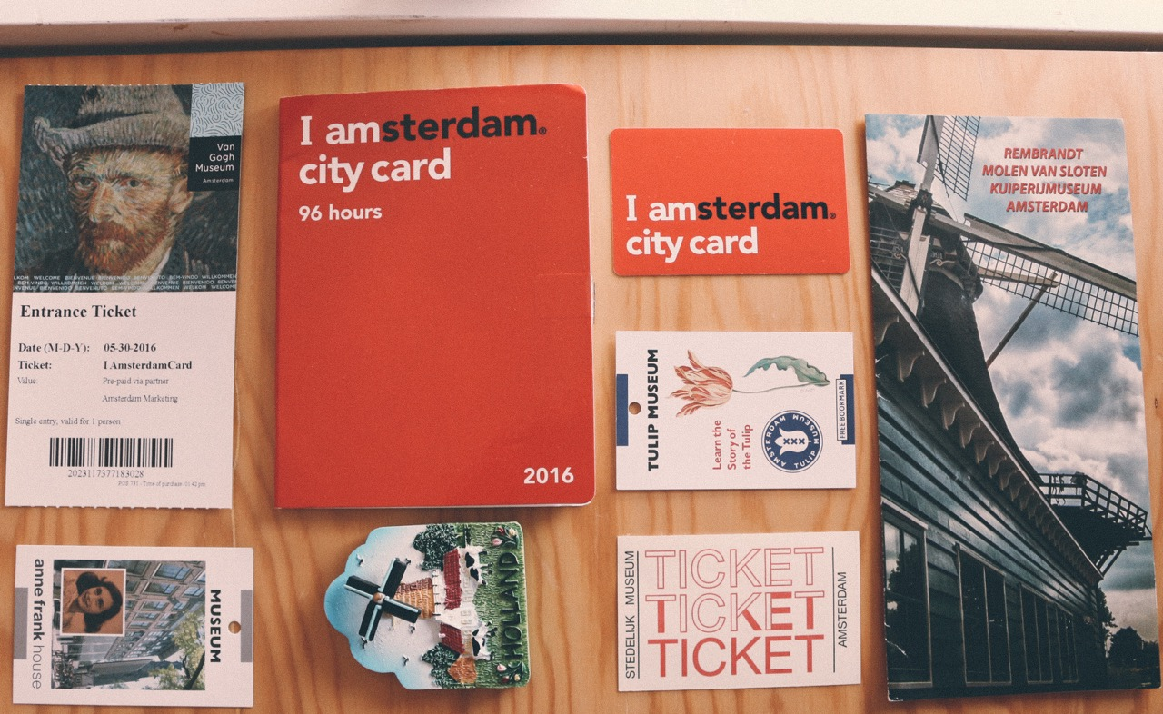 Amsterdam transportation card