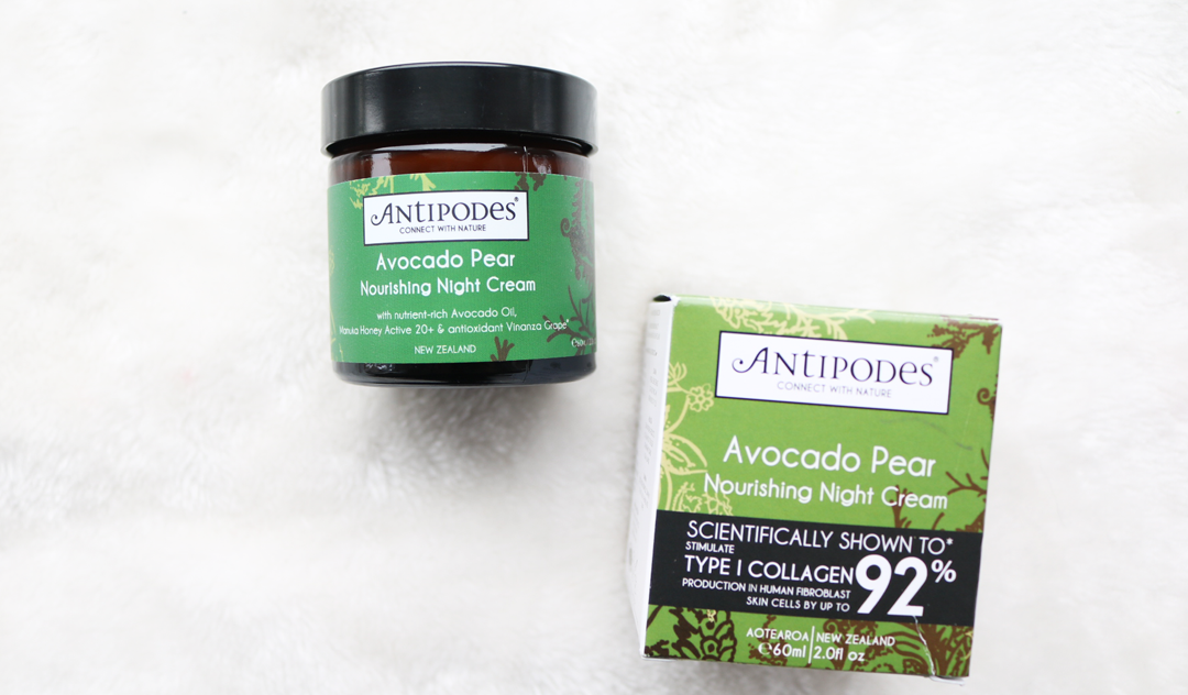 Antipodes Avocado Pear Nourishing Night Cream review