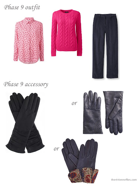 adding gloves to a capsule wardrobe