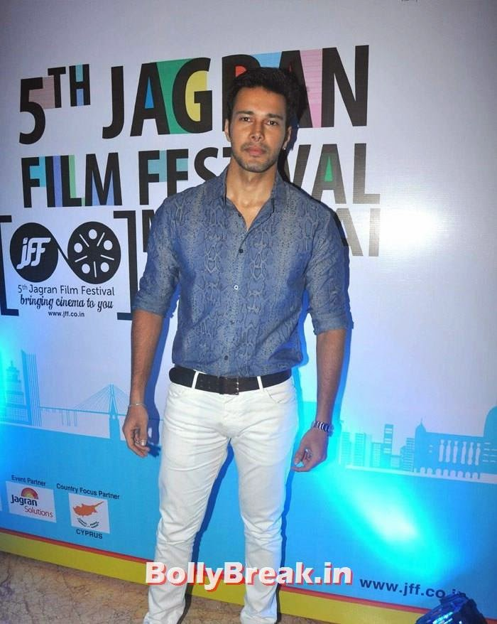 Rajniesh Duggal, 5th Jagran Film Festival Red Carpet Pics