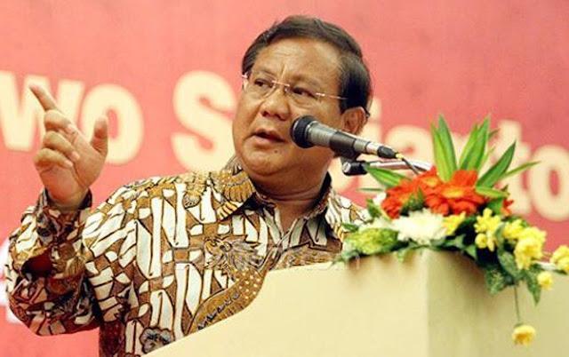 Prabowo Heran Tiga Kali Ikut Pemilu Isu Kudeta Masih Ada