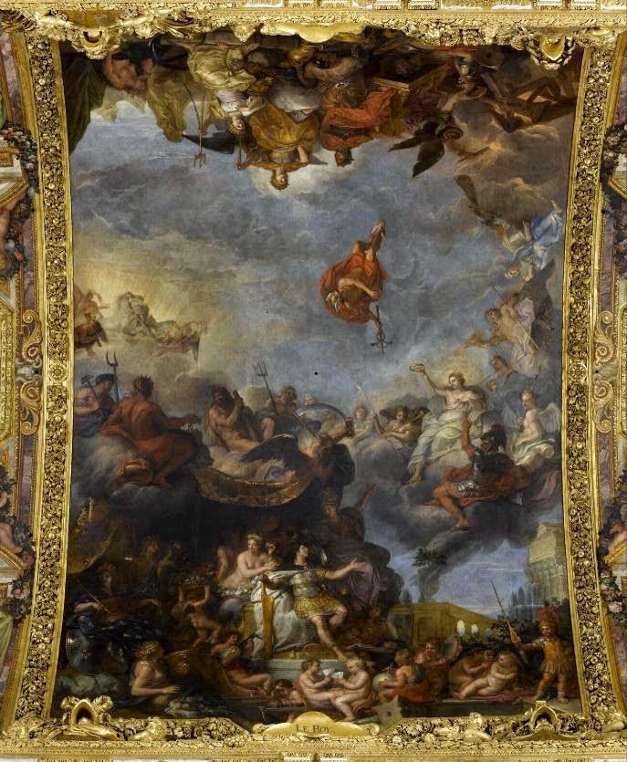 Imparare con la storia 53 le monarchie assolute for Charles che arredo la reggia di versailles