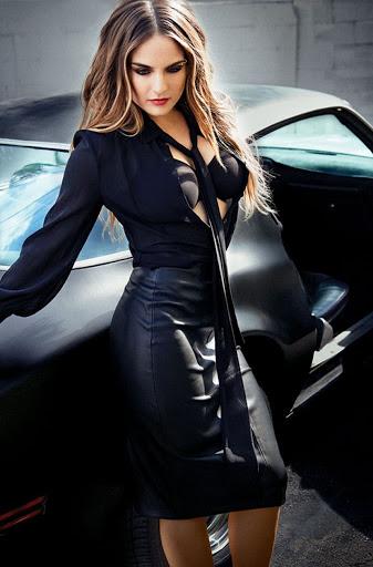 Joanna JoJo Levesque The Improper Bostonian Magazine Model Photo Shoot