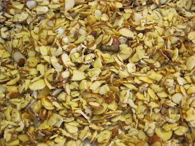A Handful Of Everything Sliced Candied Almonds