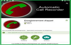 Call Recorder , Enregistrez vos conversations téléphoniques