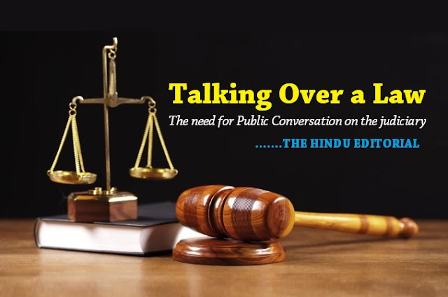 Talking Over a Law THE HINDU EDITORIAL