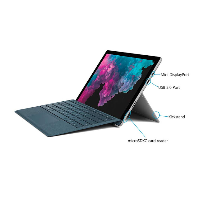 Microsoft Surface Pro 6 1796 2019 12.3-inch Laptop