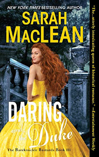 Book Review: Daring and the Duke (The Bareknuckle Bastards #3) by Sarah MacLean | About That Story