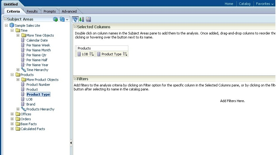 Oracle Business Intelligence: ToolTip in OBIEE reports