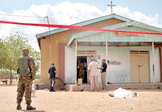 Ataque con granada iglesia en Kenia