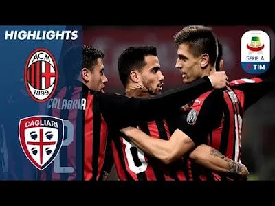 AC Milan vs Cagliari 3-0 Football Highlights and Goals 2019
