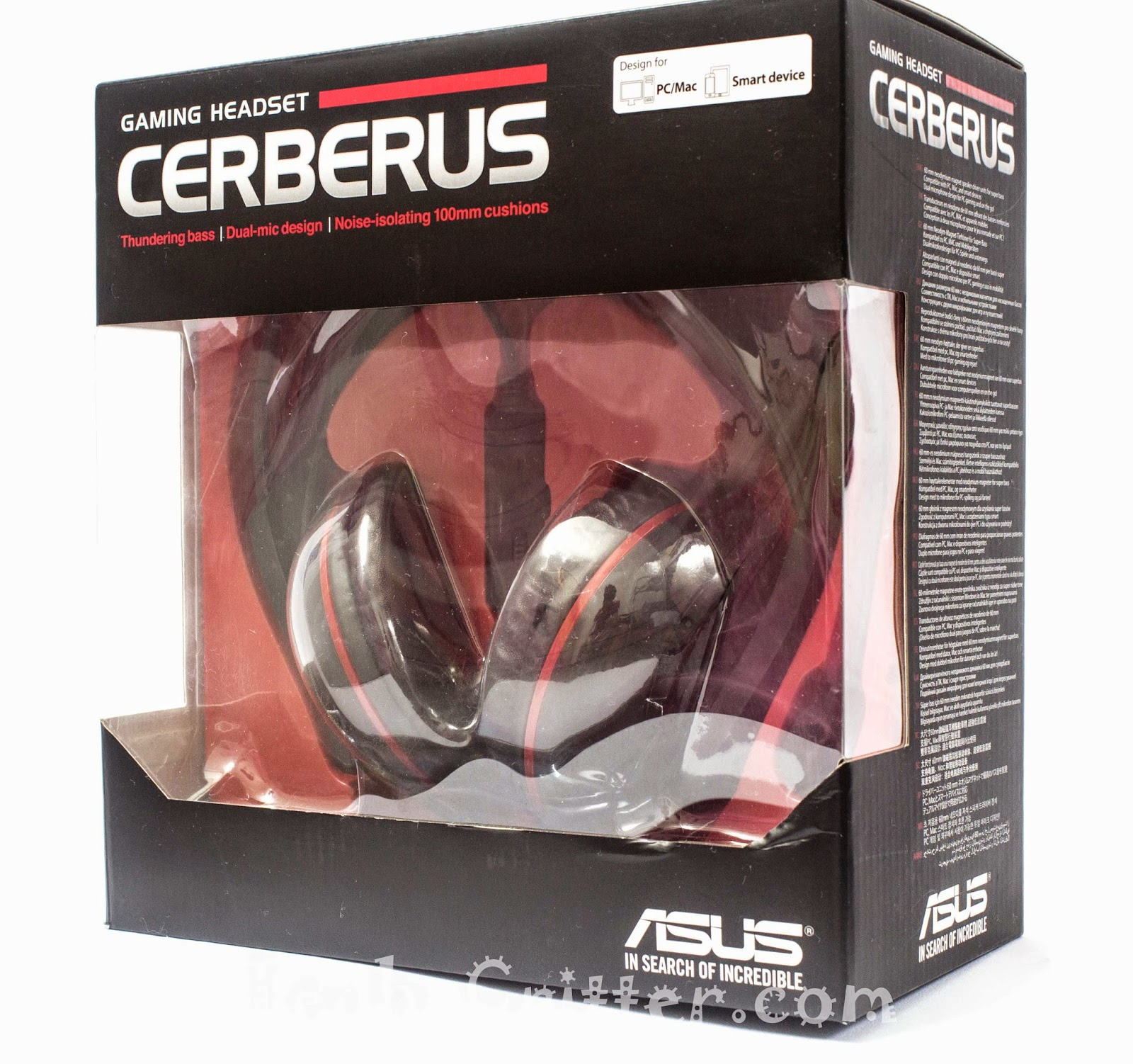 Unboxing & Review: ASUS Cerberus Gaming Headset 3