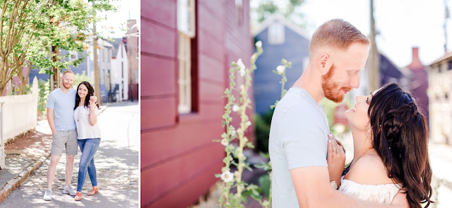 Downtown Annapolis Engagement Photos by Maryland Photographer Heather Ryan Photography