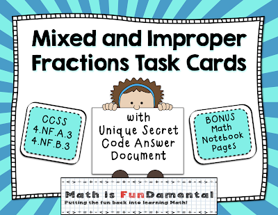 https://www.teacherspayteachers.com/Product/Mixed-and-Improper-Fractions-Task-Cards-with-Coded-Joke-Answer-Document-2441941