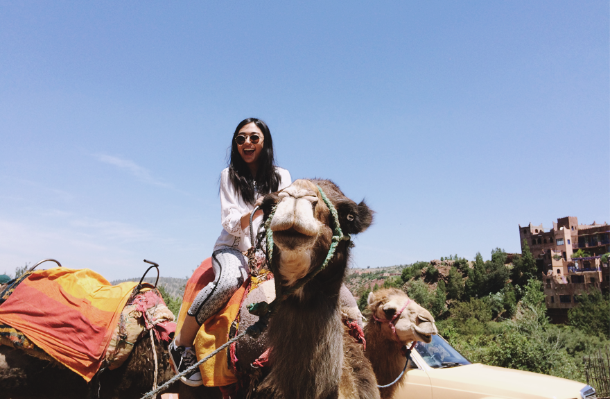 morocco camel riding