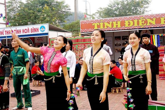 Xen Muong festival in Mai Chau, Hoa Binh province