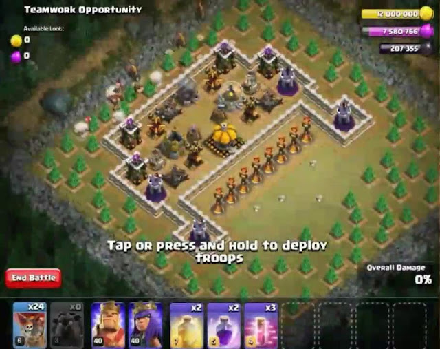 63. Teamwork Opportunity Goblin Base COC