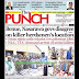 NIGERIA NEWSPAPERS: TODAY'S THE PUNCH NEWSPAPER HEADLINES [10 JANUARY, 2018].