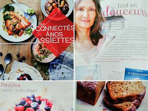 Mes recettes de pâtisserie sur le magazine Picard :)