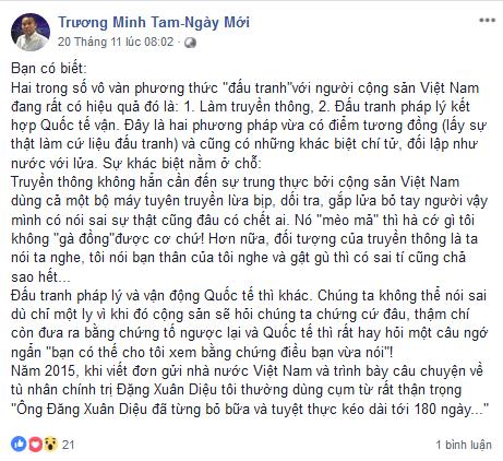 Việt Nam có thực hiện các cam kết về thực thi Công ước Chống Tra tấn ?