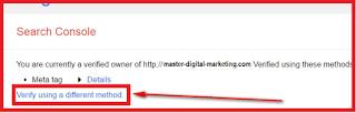 Cara Daftar ke Google Webmaster Tools 2