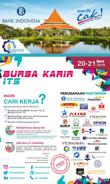 Bursa Kerja ITS Surabaya