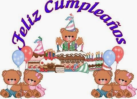 Banco de Imagenes y fotos gratis Feliz Cumpleaños en Letras, parte 2