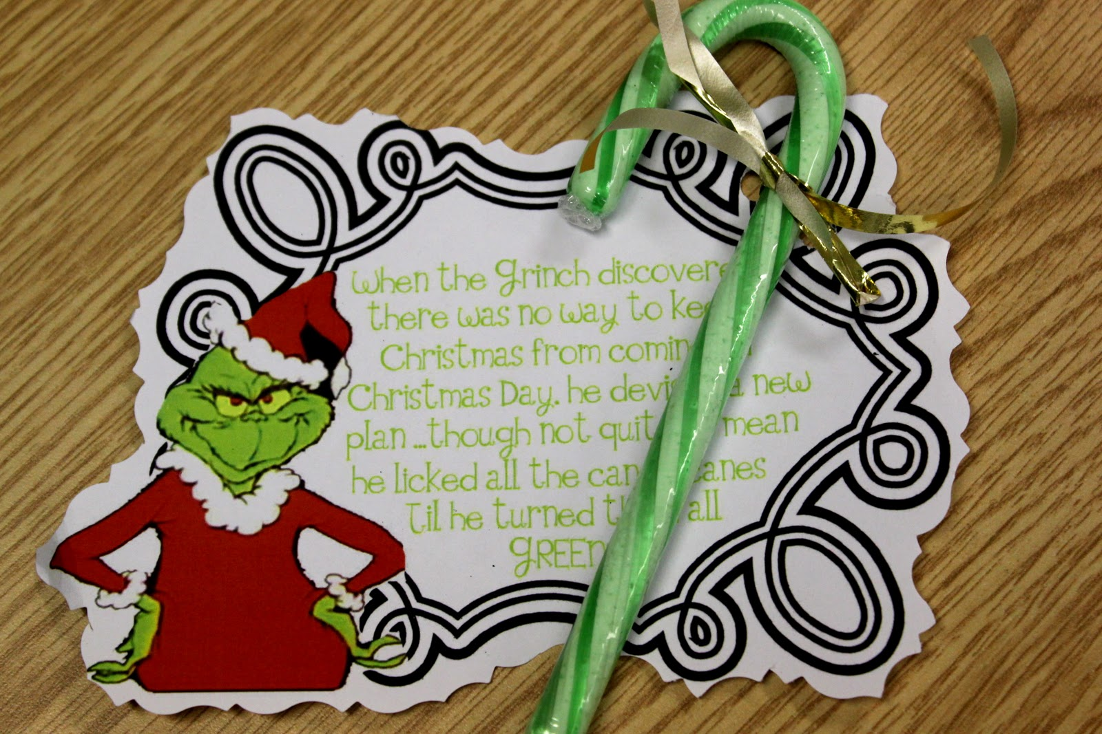 World Of The Wilsons Happy Grinch Day