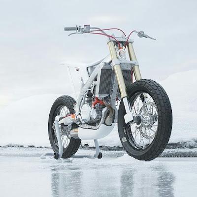 Honda CRF 450 Super Motard Concept