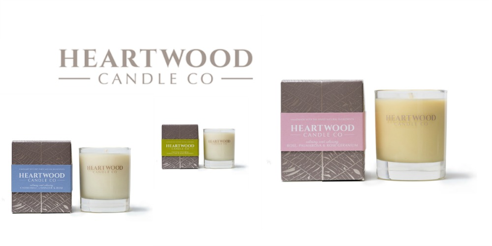 Giveaway: Heartwood candle company