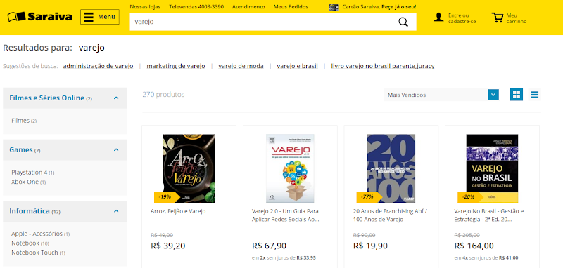 """""""Arroz, Feijão e Varejo"""" - o mais vendido livro de varejo da atualidade"""